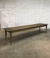ancienne grande table de ferme banquet 370m 5francs 1 172x198 - Rare ancienne très grande table de ferme 370 cm de long