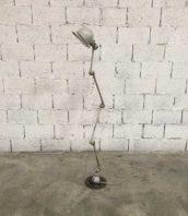 ancienne lampe jielde patine gris blanc atelier industrielle 5francs 1 172x198 - Ancienne lampe Jieldé 4 bras  patine gris blanc