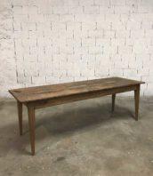 ancienne table de ferme 233cm refectoire 5francs 1 172x198 - Ancienne table de ferme bois massif en 233 cm
