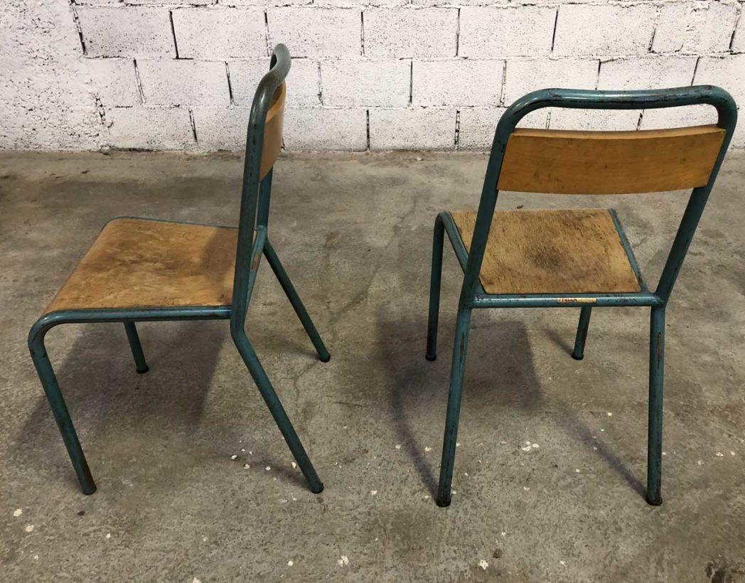 ensemble de 44 chaises d 39 cole stella vintage. Black Bedroom Furniture Sets. Home Design Ideas