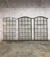 verriere arrondie orangerie atelier materiau ancien loft 5francs 1 172x198 - Anciennes verrières arrondies d'orangerie époque 1900