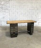 ancien bureau industriel tiro clas militaire decape metal bois 5francs 0 172x198 - Bureau industriel ancien militaire TIRO-CLAS