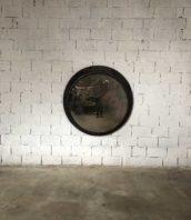 ancien miroir convexe xxl sorciere bombe decape 5francs 1 172x198 - Ancien grand miroir Convexe décapé