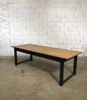 ancienne grande table bois refectoire 230cm patine noire 5francs 1 172x198 - Ancienne grande table de réfectoire 230cm patine noire