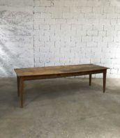 ancienne table ferme 250cm pin patine 5francs 1 172x198 - Ancienne grande table de ferme 250cm
