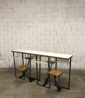 comptoir chaise rabatable bar bistrot mangedebout 5francs 1 172x198 - Mange debout vintage chaises rabattables