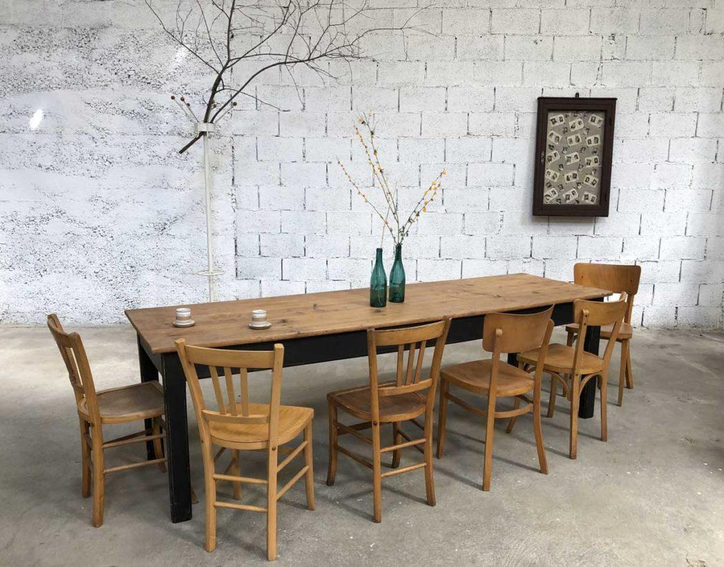 lot important chaises d pareill es bistrot. Black Bedroom Furniture Sets. Home Design Ideas