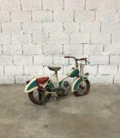 sujet manege 1930 moto metal rare art forain 5francs 1 172x198 - RARE moto de manège des années 40/50