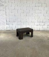 table basse cuve rivetee metal industrielle 1900 5francs 1 172x198 - Table basse ancienne cuve rivetée 1900