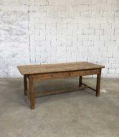 table de ferme ancienne 214cm patine pin 5francs 1 172x198 - Table de ferme ancienne en pin 214cm