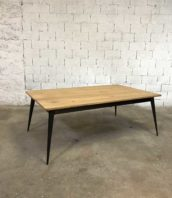table manger tolix revisite bois metal 5francs 1 172x198 - Table création Tolix by 5FRANCS