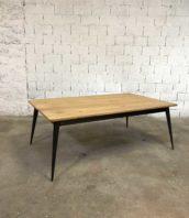 table manger tolix revisite bois metal 5francs 1 172x198 - Table plateau chêne et pied compas métal Tolix revisité by 5FRANCS
