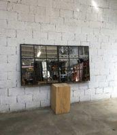verriere miroir 19eme atelier loft 5francs 1 172x198 - Verrière XIXe transformée en miroir