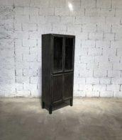 vitrine dentiste metal decape annee 50 5francs 1 172x198 - Ancienne petite vitrine de dentiste année 50 décapée