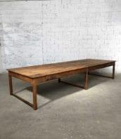 immense table de travail ancienne 400cm 5francs 1 172x198 - Immense table de travail en bois massif 400 cm