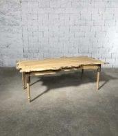 table manger bois acacia loupe nature 215cm 5francs 1 172x198 - Table création by 5FRANCS en loupe d'acacia massif 215 cm