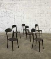 ancienne chaise metal 1920 hotel dieu 5francs 1 172x198 - Ensemble de 6 chaises de l'hôpital Edouard Hériot Lyon de 1933