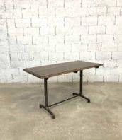 ancienne table bistrot fishel 1900 bar 5francs 1 172x198 - Ancienne table bistrot Fishel piétement fonte année 20