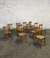 """lot chaise bistrot claire lutherma vintage 5francs 1 172x198 - Ensemble de 25 chaises bistrot vintages dossier """"sans barre"""""""