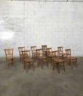 """lot important chaise bistrot lutherma vintage claire 5francs 1 172x198 - Stock de chaises bistrot vintages Luterma dossiers"""" petits barreaux"""""""