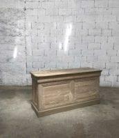 Banc comptoir bois annee30 160cm 5Francs 1 172x198 - Ancien banc comptoir en bois année 30 longueur 160cm