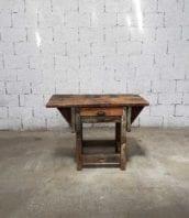 etabli primitif bois tiroir 110cm 5francs 1 172x198 - Établi primitif en bois de pin avec tiroir et poignée en métal 110cm