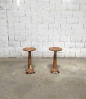 tabouret ancien atelier fonte patine industriel 64cm 5francs 1 172x198 - Tabouret ancien d'atelier piétement en fonte avec patine 64cm