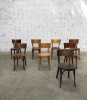 Lot 8 chaises baumann grand dossier bistrot assise 46cm 5francs 1 172x198 - Lot de 8 chaises de bistrot Baumann grand dossier Hauteur assise 46cm