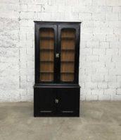ancienne bibliotheque 2corps noire 5francs 1 172x198 - Petite bibliothèque noire deux corps style Napoléon III