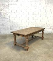 ancienne table ferme 200cm rallonge chêne 5francs 1 172x198 - Ancienne table de ferme en chêne avec rallonges 200cm