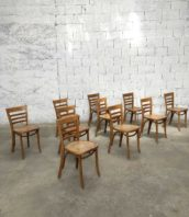 lot 90 chaises bistrot thonet fmo 5francs 1 1 172x198 - Lot de 90 chaises de bistrot Thonet by Josef Hoffmann par FMO