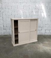 meuble atelier rose podre porte coulissante atelier 5francs 1 172x198 - Meuble d'atelier 2 portes coulissantes patine rose poudré