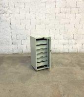 petit meuble chaussure metal industriel patine 5francs 1 172x198 - Petit meuble d'atelier Morgan en metal avec tiroirs style industriel