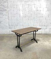 rare table bistrot charlionais pourailly 1900 lyon toulouse 5francs 1 172x198 - Rare table de bistrot Charlionais & Pourailly des année 1900