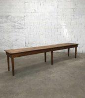 Grande table de travail pin longueur 380cm 5francs 1 172x198 - Grande table de travail en pin année 1900 longues 380cm