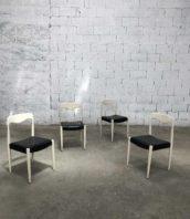 Lot 4 chaises vintage style Niels Otto Møller assise 45cm 5francs 1 172x198 - Ensemble de 4 chaises vintage style Niels-Otto-Møller années 60