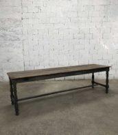 Table de drapier ancienne style anglais 19e siecle longueur 273cm chene 5francs 1 172x198 - Table de drapier ancienne style anglais XIX siècle longueur 273cm