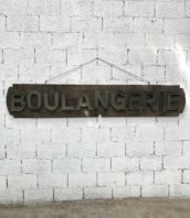 enseigne de boulangerie année 1930 zinc longue 238cm 5francs 1 172x198 - Enseigne de boulangerie du 1930 en zinc longue 238cm