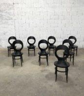 """lot de 12 chaises de bistrot baumann modele mouette noir bois hetre hauteur assise 45cm 5francs 1 172x198 - Lot de 12 chaises de bistrot Baumann modèle """"mouette"""" noir"""