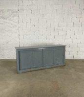 enfilade grise avec 2 portes coulissantes en bois longue 200cm 5francs 1 172x198 - Enfilade grise avec 2 portes coulissantes en bois longue 200cm