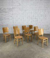 ensemble de 15 chaises de refectoire hetre annee 80 hauteur assise 46cm 5francs 1 172x198 - Lot de 15 chaises de réfectoire hêtre année 80 hauteur assise 46cm