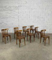 """ensemble de 17 chaises de bistrot annee 60 montluel style baumann hauteur assise 47cm 5francs 1 172x198 - Ensemble de 17 chaises de bistrot année 60 """"MONTLUEL"""""""