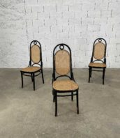 ensemble de 3 chaises de bistrot 17 thonet manufacture fmg bois courbe 5francs 1 172x198 - Ensemble de 3 chaises de bistrot n°17 Thonet par FMG bois courbé
