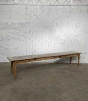 immense table de refectoire chene patine origine longue 389cm 5francs 1 172x198 - Immense table de réfectoire en chêne patine d'origine longue 389cm