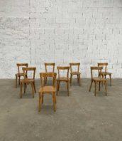 lot de 60 chaises de bistrot baumann petit dossier hauteur assise 47cm 5francs 1 172x198 - Ensemble de 10 chaises de bistrot Baumann avec petit dossier