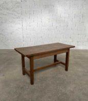 petite table de ferme bois massif longueur 150cm 5francs 1 172x198 - Petite table de ferme en bois massif longueur 150 cm