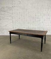 table pieds tournés 200cm chene 5francs 1 172x198 - Table à manger avec pieds tournés en chêne longueur 200 cm