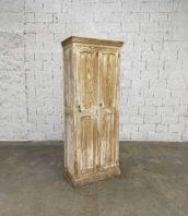 vestiaire bois 2 portes patine blanche hauteur 200cm 5francs 1 172x198 - Vestiaire en bois vintage blanc avec 2 portes hauteur 200cm