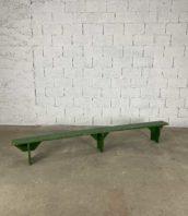 banc enfant en pin vert art populaire longue 253cm 5francs 1 172x198 - Banc enfant en pin vert d'art populaire longue 253cm