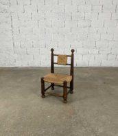 chaise basse style charles dudouyt bois vintage hauteur assis 30cm 5francs 1 172x198 - Chaise basse style Charles Dudouyt en bois vintage hauteur assis 30cm